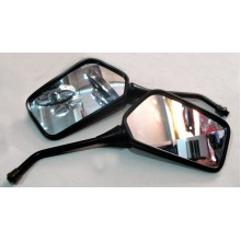 Зеркало М10  квадратные ,  пластик