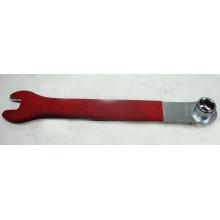 Ключ  красная ручка , размер 14, 15 , Тайвань