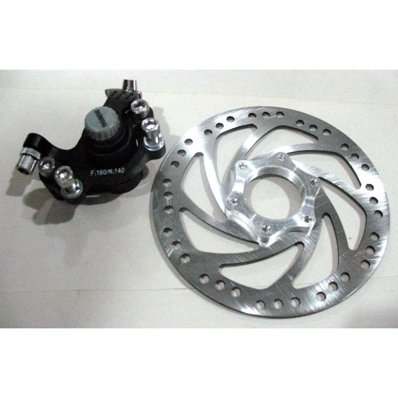 Дисковые тормоза комплект, SHUNFENG,диаметр 140
