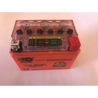 Аккумулятор  4A/12V  гель с индикатором ,OUTDO , год выпуска 04.03.2021